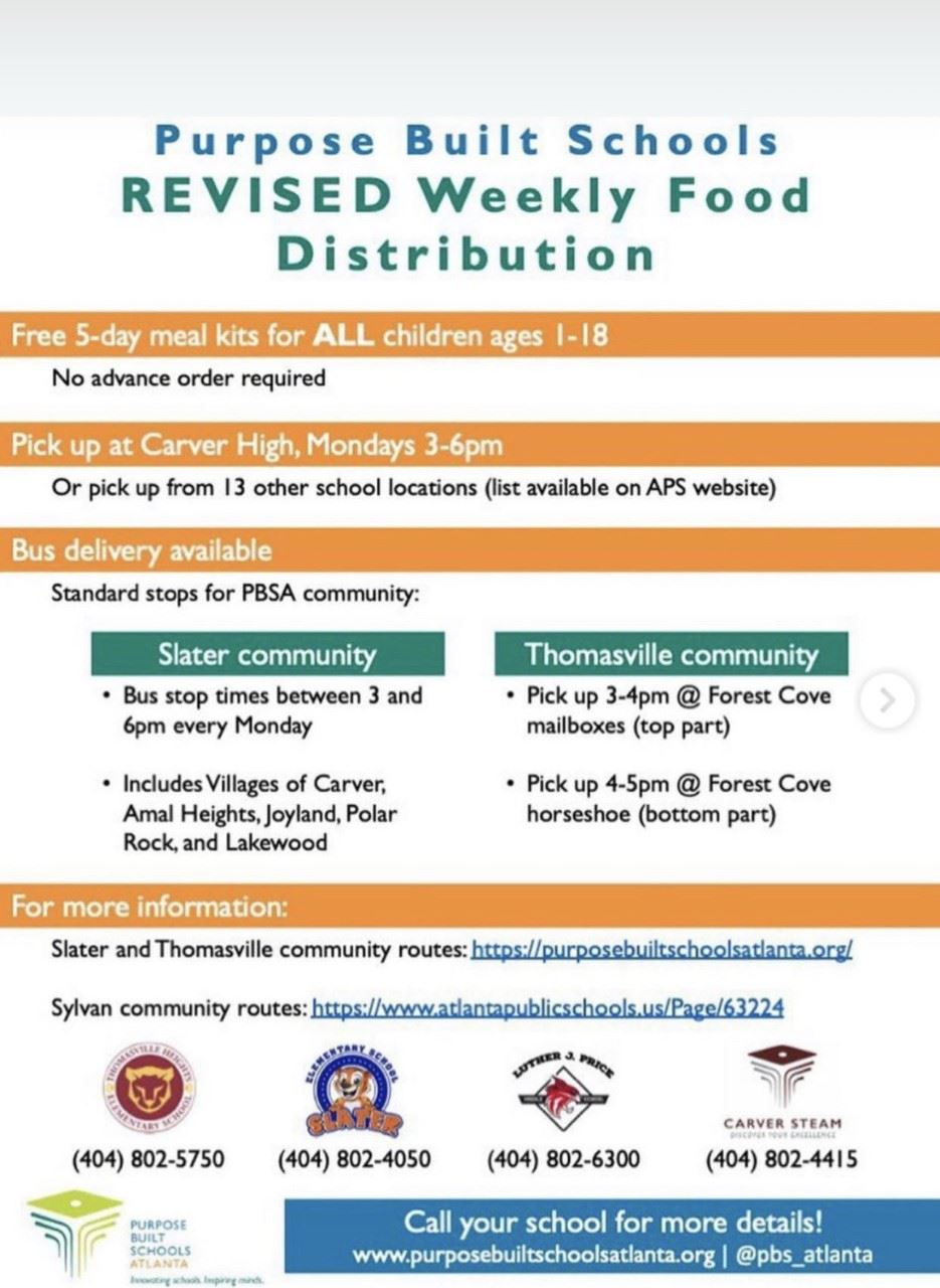 Revised Food Distribution
